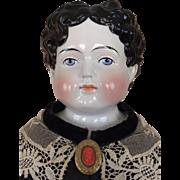Antique china head Alt Beck and Gottschalk doll