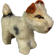 Steiff miniature fox terrier in smallest size