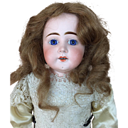Lovely German bisque Child by rare maker