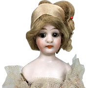 Ballerina doll, unusual miniature Simon and Halbig