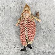Antique Small size Santa candy bag