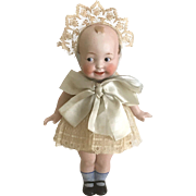 The Wide Awake doll, Antique Googly doll,