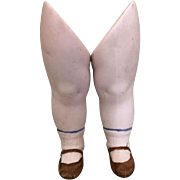 Tinted bisque legs for all bisque doll