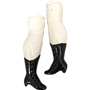Large replacement legs for china doll