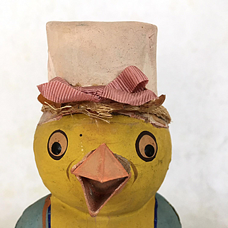 Vintage Chicken shaped candy container
