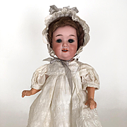 Antique Armand Marseille doll, toddler, character baby doll, vintage doll, bisque head, model 560a