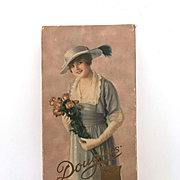 Vintage antique Douglas chocolate box, for decor or display