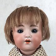 Vintage bisque head boy doll, Heubach Koppelsdorf Model 320, bisque head doll