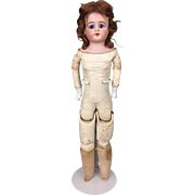 Antique German bisque doll by Ernst Heubach, needs clothing