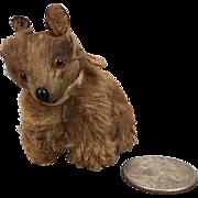 Dollhouse miniature dollhouse dog