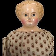 Antique German M & S Superior papier mache doll