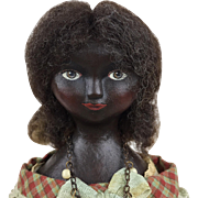 Artist doll by Lora Soling, OOAK artist doll, papier mache doll, Miss Iona Bennet
