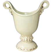Rumrill Red Wing Off White Renaissance No. 582 Vase