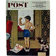 Saturday Evening Post Magazine Nov, 29th, 1952, Artist Hughes