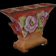 Morimura Hand Painted Noritake Gladiolus Vase