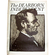 Abe Lincoln The Dearborn Independent Magazine Feb 12, 1927