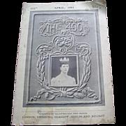 "1901 Magazine title ""The 400"", Chicago Publisher"