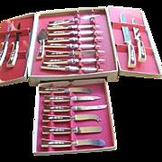 19 Piece Regent Sheffield Stainless Steel Assortment Knife Set