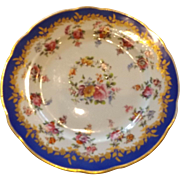 Early English Hand Painted Plate by Davenport....Charles D. Mueller Interiors Sticker