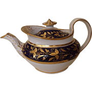 Early 19th Century New Hall English Teapot, Pattern 692