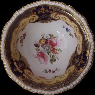 Antique English H & R Daniel Waste Bowl C.1820's, Pattern #4058