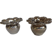 Pair of Reed & Barton Sterling Silver Toothpick Holders in the Francis I Pattern