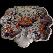 Antique Mason's Ironstone Shell Shaped Dessert Dish, circa 1820's
