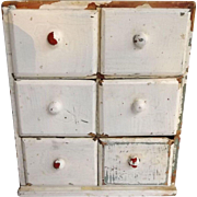 Sweet Shabby Chic Spice Cabinet Rack...Chippy Darling