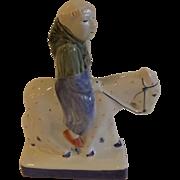 "Vintage English Rye Pottery Figurine ""The Friar"""