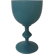 French Opaline Goblet by Portieux Vallerysthal