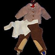 "Vintage Madame Alexander 16"" Elise riding outfit"