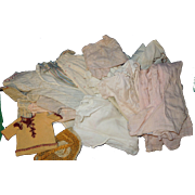 Antique and Vintage doll clothes, primitive, handmade