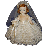 Madame Alexander Wendy Kins BKW Bride doll #670