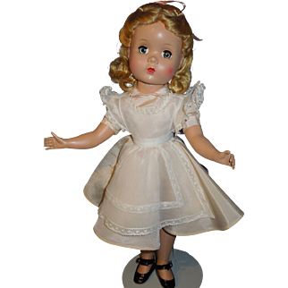 "14"" Madame Alexander 50's Alice in Wonderland Maggie faced doll"