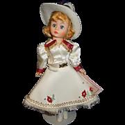 Madame Alexander Cissette Portrette Cowgirl #1132 doll