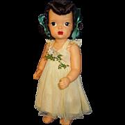 """Vintage Pat. Pending plastic 16"""" Terri Lee doll"""