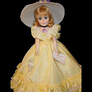 "Madame Alexander 21"" Portrait doll Magnolia #2251"