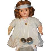 Composition Madame Hendren Dolly Rekord Phonograph doll