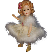 "Madame Alexander composition Sonja Henie 14"" skater doll"