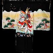 Samurai Japanese Silk Kimono
