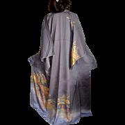 Japanese Silk Kimono Tomesode