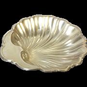 Antique Gorham Sterling Silver Shell Bowl Nut Candy Trinket Dish