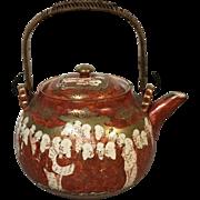 Japanese Meiji Period Thousand Scholars Teapot