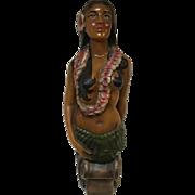 Hula Girl Boat Ship Figurehead Nautical Decor Hawaii