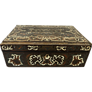 Beautiful 19th Century Inlaid Valuable Trinket Box