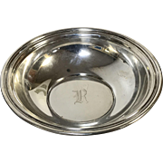 Gorham Sterling Bowl Monogram R