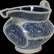 19th Century Chinese Porcelain Fitzhugh Creamer Gravy Boat
