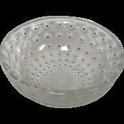 Lalique Crystal Nemours Bowl