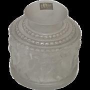 Lalique Crystal Enfants Cherubs Perfume Bottle