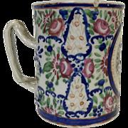 18th Century Chinese Porcelain Mug with Twisted Handle